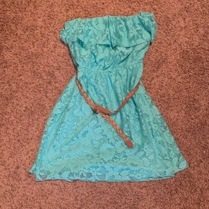 Aqua Sun Dress